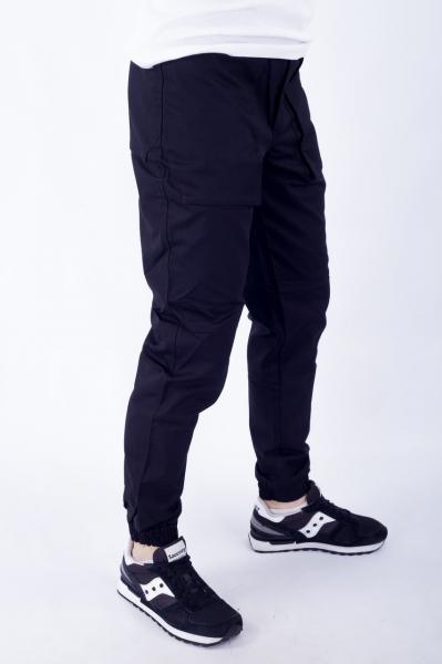 Мужские брюки карго черные ТУР модель Voron