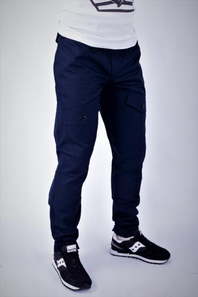 Мужские брюки карго темно-синие ТУР Prometheus M, синий