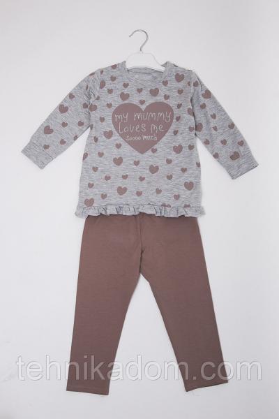 Пижама 71090 (св.серый)