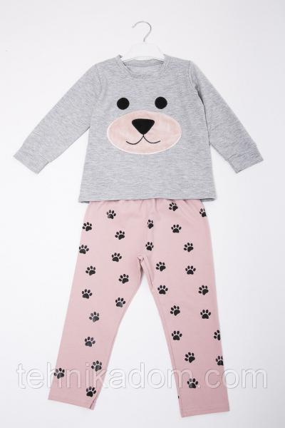 Пижама 71010 (св.серый)
