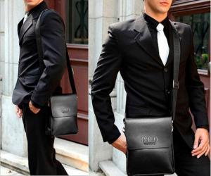 Фото Сумки Мужская сумка через плечо POLO Videng Classic Черная