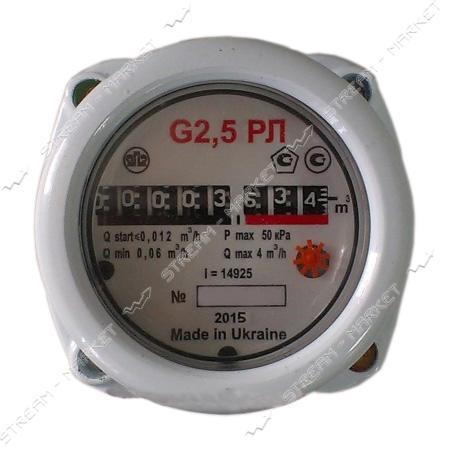 Газовый счетчик ЯМПОЛЬ роторный РЛ G2.5