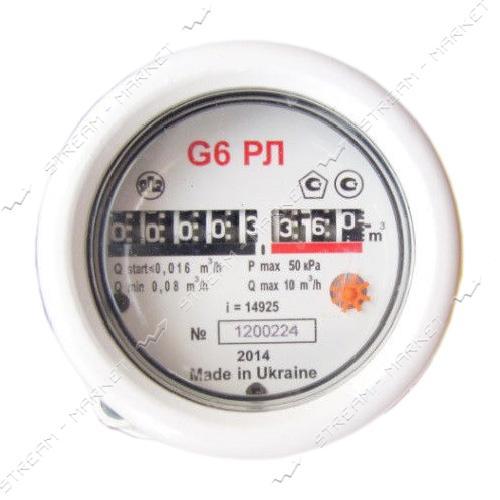Газовый счетчик ЯМПОЛЬ роторный РЛ G6