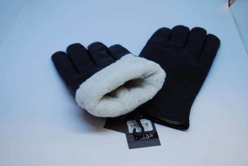 Перчатки кожаные мужские Pitas на овчине 2069