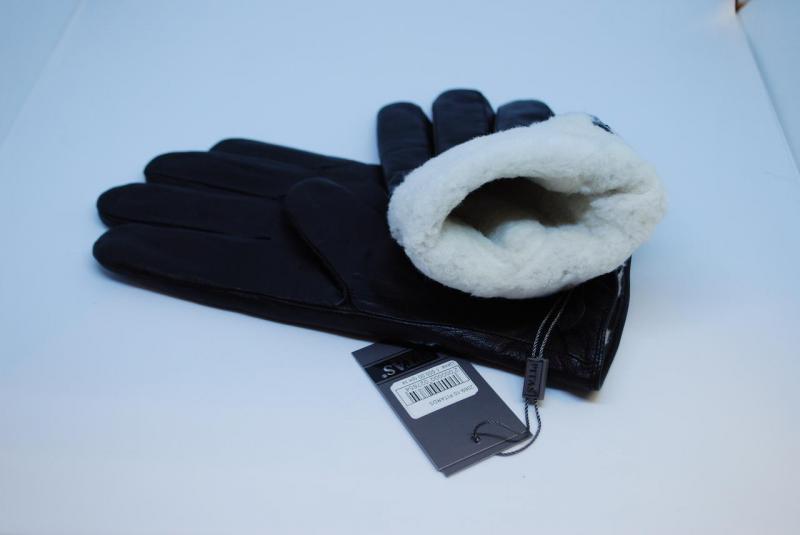 Перчатки кожаные мужские Pitas на овчине 2069 10