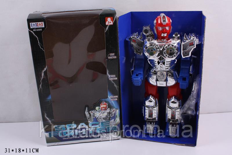 """6009 Интерактивный робот """"SPACE FIGHTER"""""""
