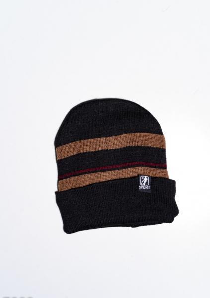 Фото  Мужские шапки ISSA PLUS 7899  Universal коричневый/бордовый