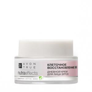 Фото Nutra Effect Вечная молодость 35+ Денний крем для обличчя «Клітинне відновлення 35+» SPF 20 (50 мл)