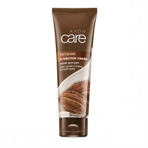 Фото Серия Care Крем для рук з маслом какао «Живлення» (75 мл)