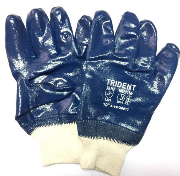 Перчатки рабочие нефтяник с мягким манжетом