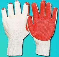Перчатки стекольщика залиты вулканизированной резиной