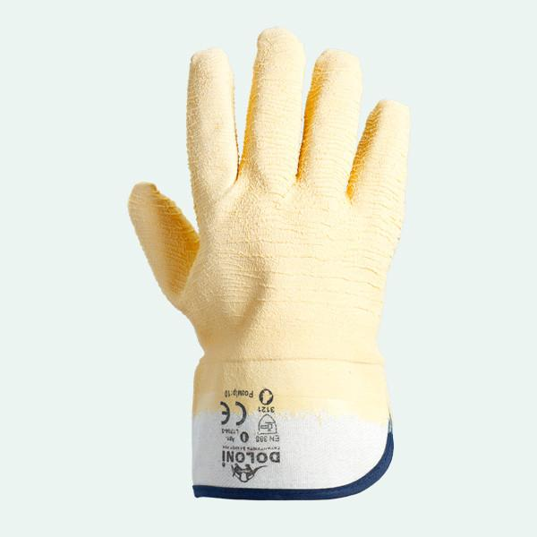 Перчатки стекольщика DOLONI (манжет крага) 4500
