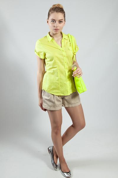 Рубашка женская  летняя  короткий рукав  р 42  CAMAIEU