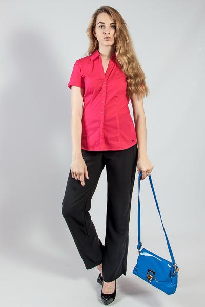 Рубашка женская  цветная летняя короткий рукав  S.Oliver
