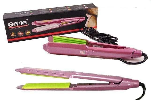 Утюжок плойка выпрямитель для волос Gemei GM 2957