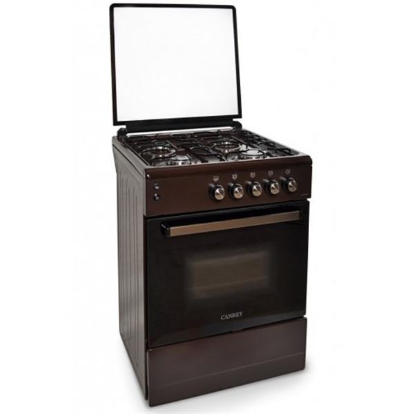 Газ. плита CANREY CGP 5040, 50 см, коричневая, стекл.крышка Canrey CGP5040Pкоричневая