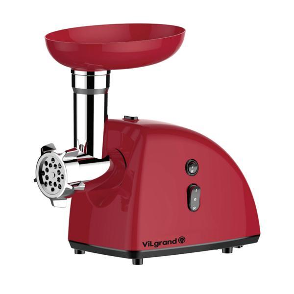 М'ясорубка електрична 2000 Вт+насадка под томат, реверс ViLgrand V204-11MG