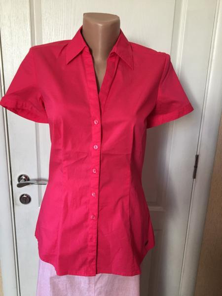 Рубашка женская  цветная летняя короткий рукав  S.Oliver  46