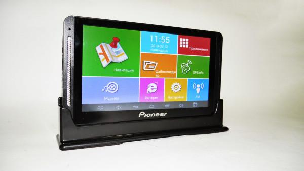"7"" планшет Pioneer 708 - 4дра+1Gb RAM+16Gb ROM+Bluetooth+GPS+Android"