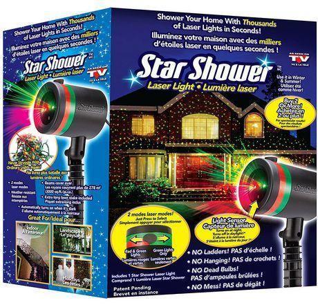 Star Shower - лазерный проектор звездного неба