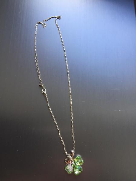 Кулон-цветочек на цепочке