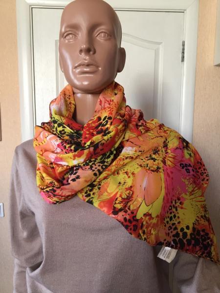 Женский шарф цветной легкий весенний Lafeny