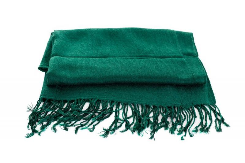 Женский шарф темно-зеленый весна-осень Lafeny