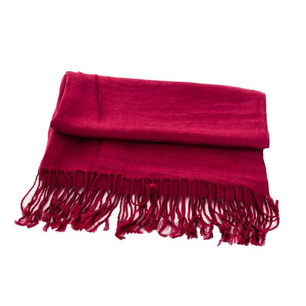 Женский шарф красный весна-осень Lafeny