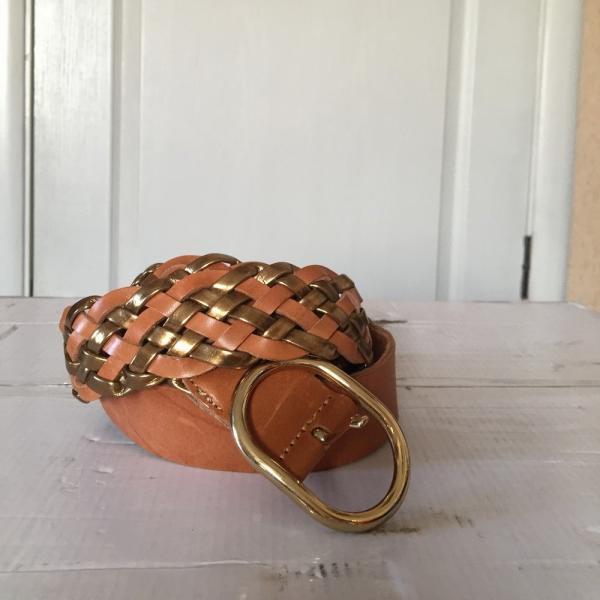 Женский ремень  кожаный Massimo Dutti