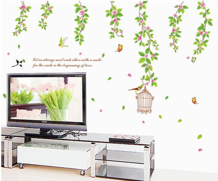 Интерьерная наклейка на стену Весна AY9084