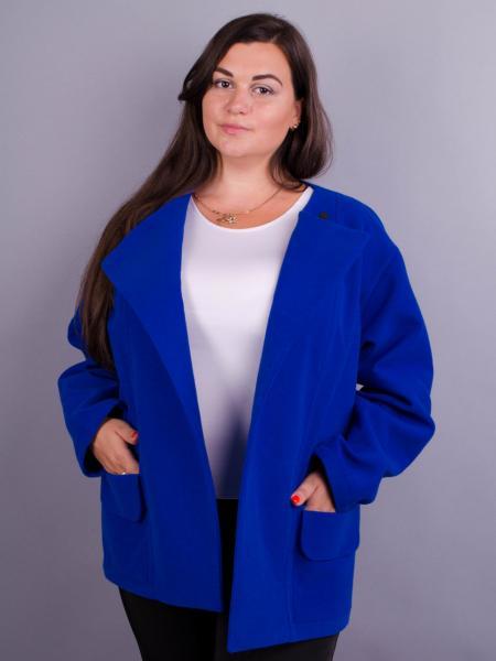 Короткое кашемировое женское пальто больших размеров: 50-64