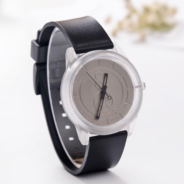 Часы наручные &Q Черно-белые 076-5