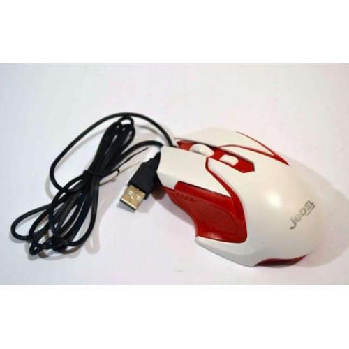 USB мышка MOUSE Jedel M85 проводная мышь с подсветкой красная