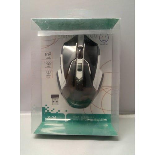 Беспроводная оптическая мышка мышь X-04 белая