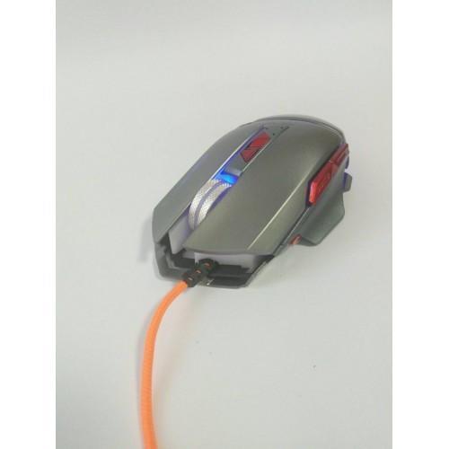 Компьютерная игровая мышь, мышка Zornwee GX10 с подсветкой Серая