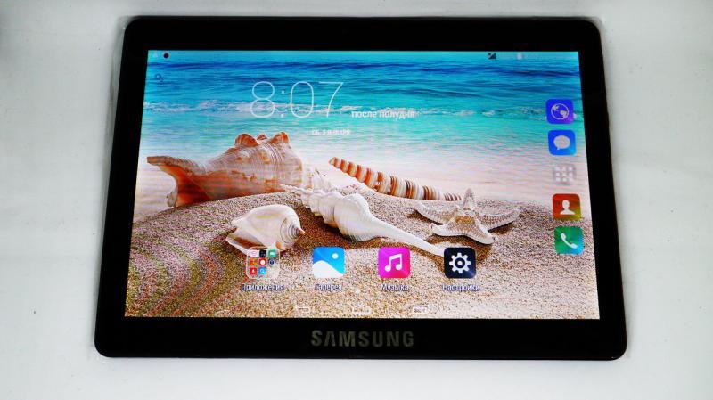 """10,1"""" Планшет-телефон Samsung Galaxy Tab 2Sim - 4Ядра+2GB Ram+16Gb ROM+GPS Black. ( Реплика)"""