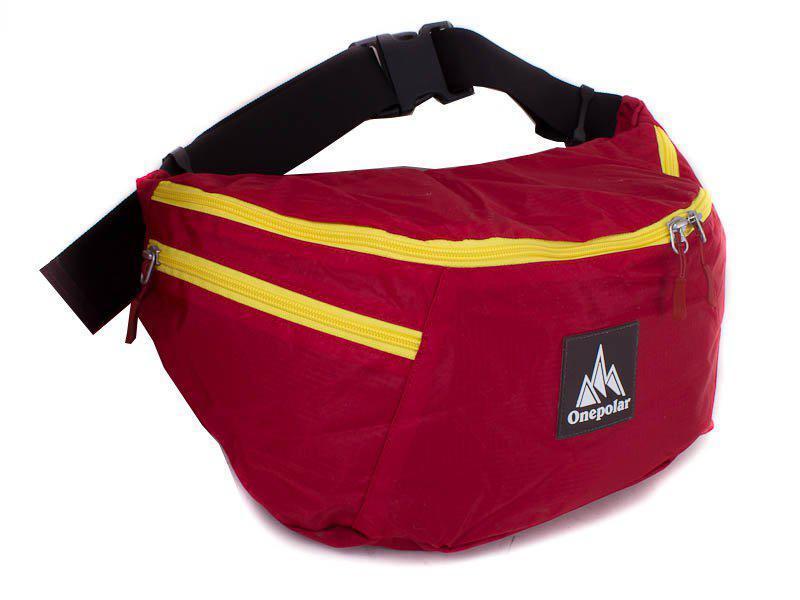 Сумка поясная Onepolar Женская поясная сумка ONEPOLAR (ВАНПОЛАР) W5271-red