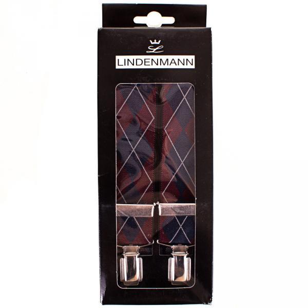 Подтяжки Lindenmann Подтяжки мужские LINDENMANN (ЛИНДЕНМАН) FARE8600-02