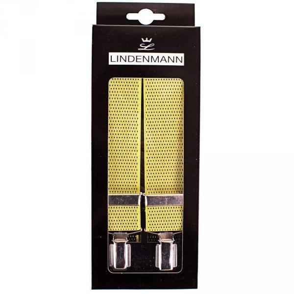 Подтяжки Lindenmann Подтяжки мужские LINDENMANN (ЛИНДЕНМАН) FARE7545-03