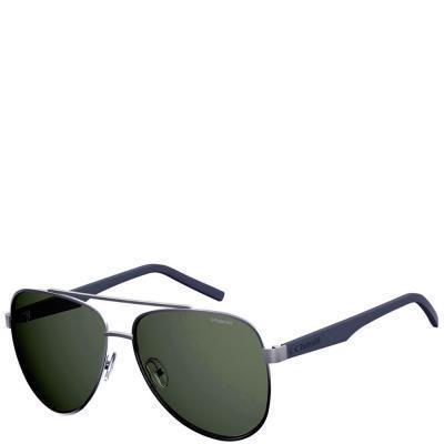 Солнцезащитные очки Polaroid Очки мужские с ультралегкими поляризационными линзами POLAROID (ПОЛАРОИД) P2043S-6LB61UC