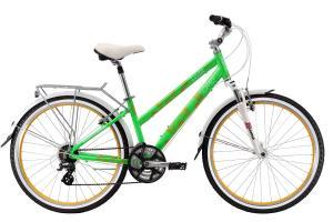 Фото  Велосипед Stark Vesta 26.3 V (2017) зелено-желтый 18