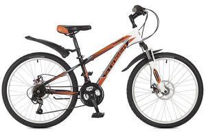 Фото  Велосипед Stinger Caiman D 24 (2016) оранжевый 12.5