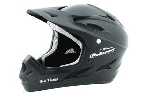 Фото  Шлем велосипедный Polisport DOWNHILL чёрный 53-56