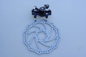 Фото  Тормоз дисковый механический задний DB-280R ZOOM DISC D-160B -