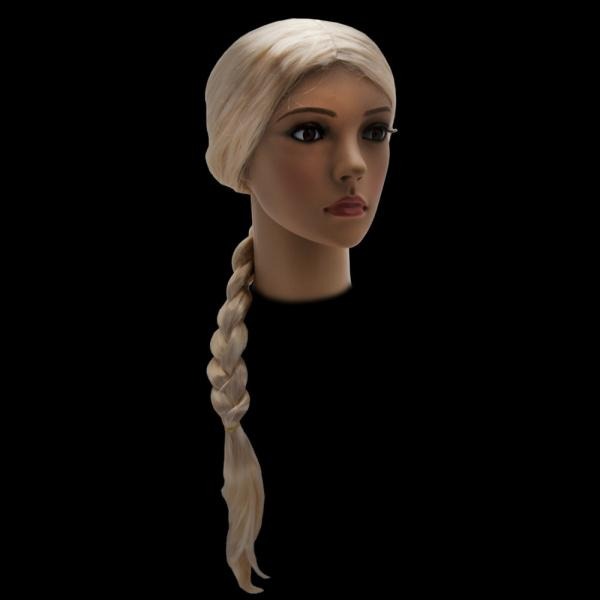 Парик Снегурочки 75 см блонд
