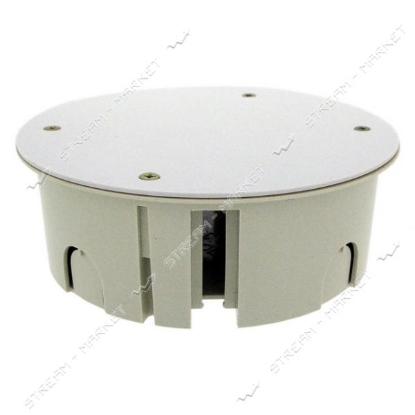 Коробка распределительная РК-120 в бетон с крышкой (только КРАТНО 36 шт)