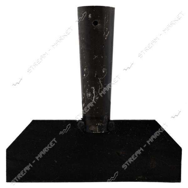 Ледоруб стальной 200 мм без черенка ( под черенок д. 40 мм.)