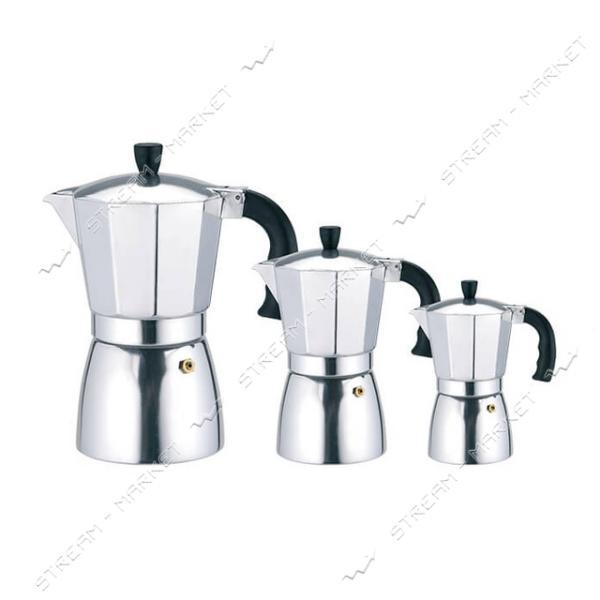 Гейзерная кофеварка Maestro MR-1667-3 150мл