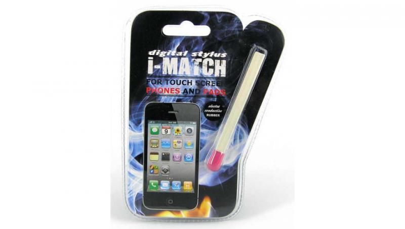 Спичка стилус для смартфона/планшета, 2 цвета