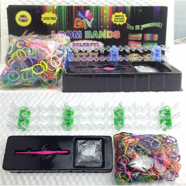 Резиночки для плетения Набор со станком